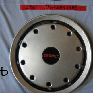 front view of hubcap # c16chev1988_7