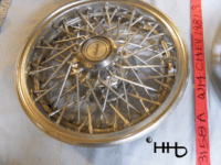 wire wheel hubcap # w14chev1981_3