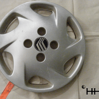 front view of hubcap # c14merc1998_4