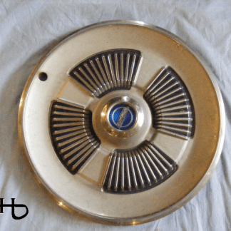 front view of hubcap # c15ford1965_2