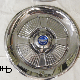 front view of hubcap # c15ford1965_3