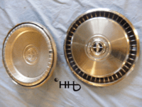 back and front view of hubcap # c15ford1972_4