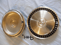back and front view of hubcap # c15ford1972_5