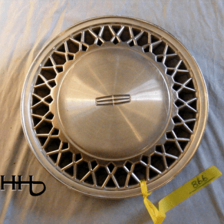 front view of hubcap # c15linc1988_1