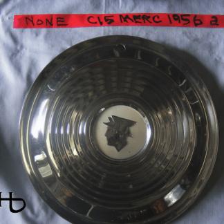 front view of hubcap # c15merc1956_2
