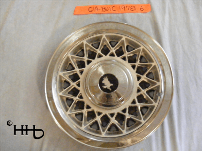 Front view of hubcap # c14buic1978_6