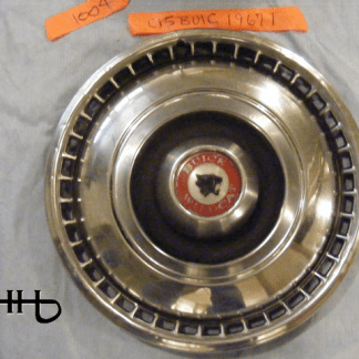 front view of hubcap # c15buic1967_1