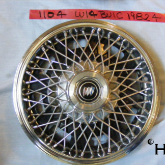 front view of hubcap # w14buic1982_4