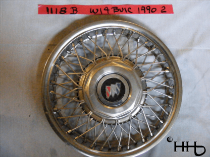 front view of hubcap # w14buic1990_2
