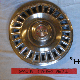 front view of hubcap # c14pont1967_2