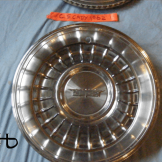 front view of hubcap # c15cady1962_1