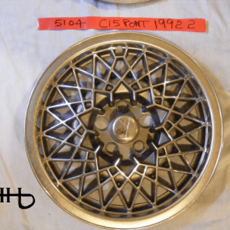 front view of hubcap # c15pont1992_2