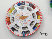 painted chevy hubcap from original hubcaps for older cars