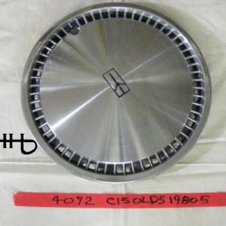 front view of hubcap # c15olds1980_5