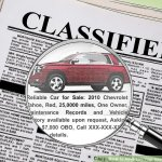 3 Ways to Advertise Your Used Car for Sale