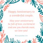 Best Wedding Anniversary Wishes For Inlaws Facebook