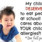 Food Allergies In Children: Stop! My Kid Can't Eat That