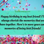 Funny Birthday Wishes For Childhood Best Friend
