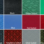 Suited Red Poker Table Cloth