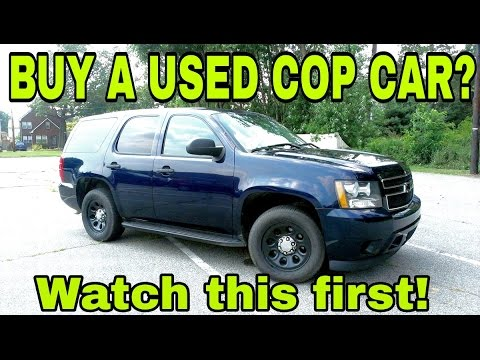 Used Police Tahoes For Sale >> Used Police Cars For Sale Secrets To Buying A Used Cop Car