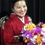 高円宮家の守谷絢子さんが晩さん会で持っていたあのブーケ。假屋崎省吾作ってホント?その後は幼馴染へ?デザインのモチーフおすべらかしとは?