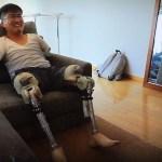 乙武さんがロボット義足SHOEBILL(シュービル)で松本人志と肩を組む!1年の苦闘の成果が7m30cm。その意義をきちんと評価する。