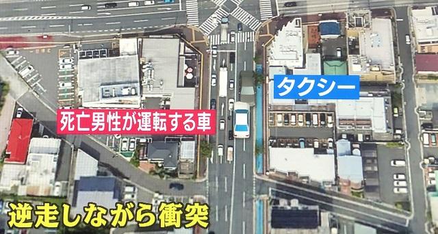 福岡市早良区百道で小島吉正さん、小島節子さんが乗車する暴走ワンボックスカーが大規模な交通事故。ブレーキ痕はあったのか?踏み間違いか?