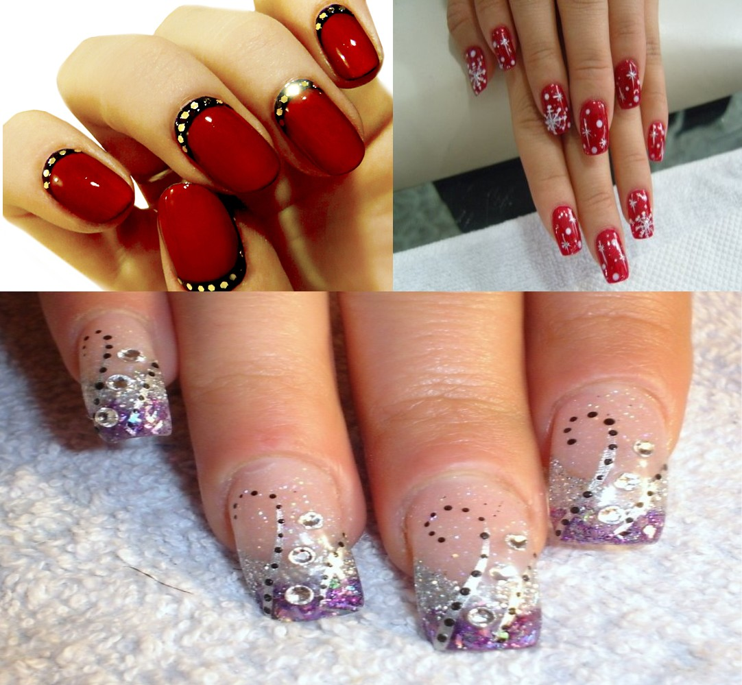 Let Those Nails Sparkle And Shine With Some Glitter Stones