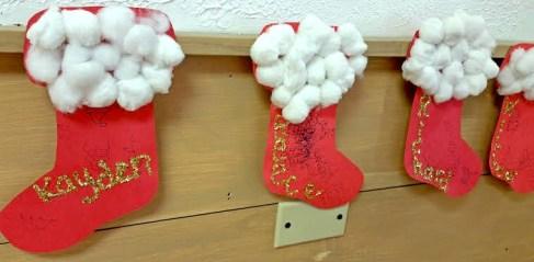 Pompom Stockings