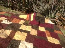 Flannel quilt.