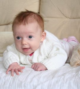 K at 3 months- my first baby!