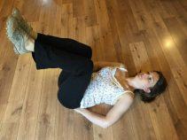 Buzymum - lowering the leg