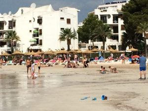 Buzymum - Alcudia beach, by the port