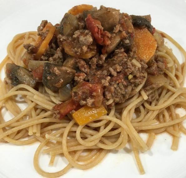 Buzymum - Spaghetti Bolognese