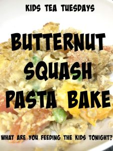 Buzymum - Butternut squash pasta bake