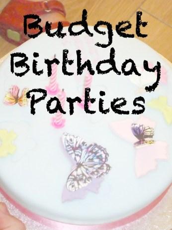 Buzymum - Budget Birthday Parties
