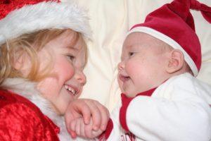 Buzymum - K & Lou Christmas pic