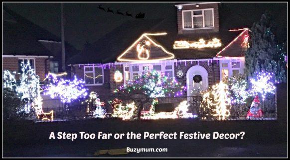Buzymum - OTT festive garden lights!