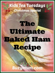 Buzymum - The Ultimate Baked Ham Recipe