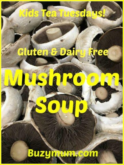 Buzymum - Gluten and dairy free Mushroom Soup
