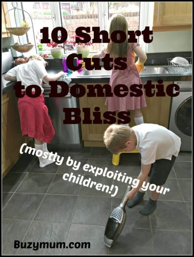 Buzymum - 10 short cuts to domestic bliss