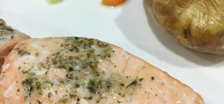 Garlic & Herb Butter Salmon