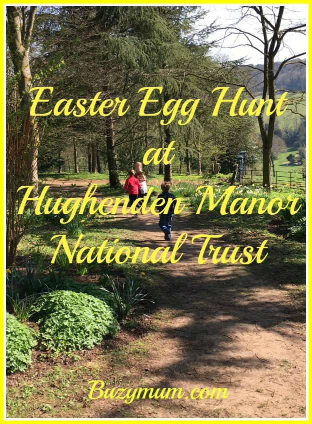 Buzymum - Easter Egg Hunt at Hughenden Manor National Trust, beautiful views