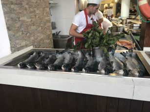Buzymum - There was fresh fish every night!