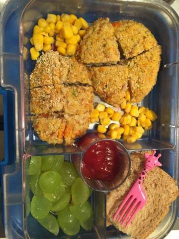 recipe tuna veggie patties