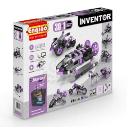 ENGINO – Inventor 30 Models Motorized Set - Price: €44