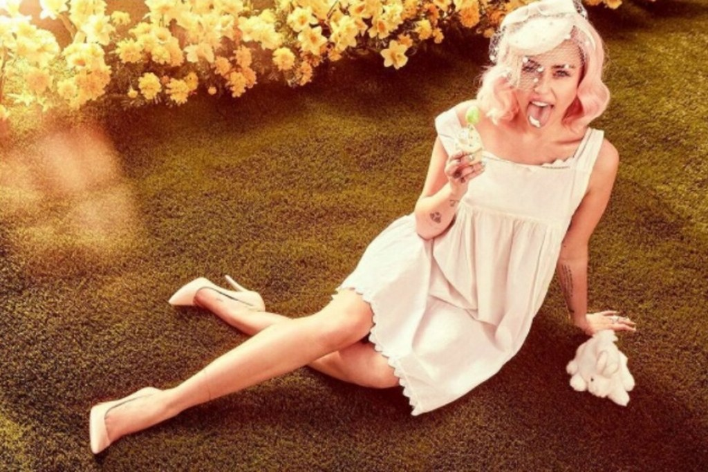 Miley Cyrus Easter Photos