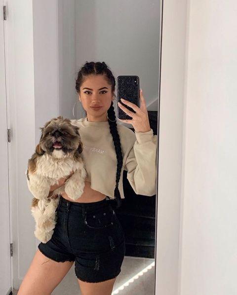 Joy'nae Elisah Bowier selfie