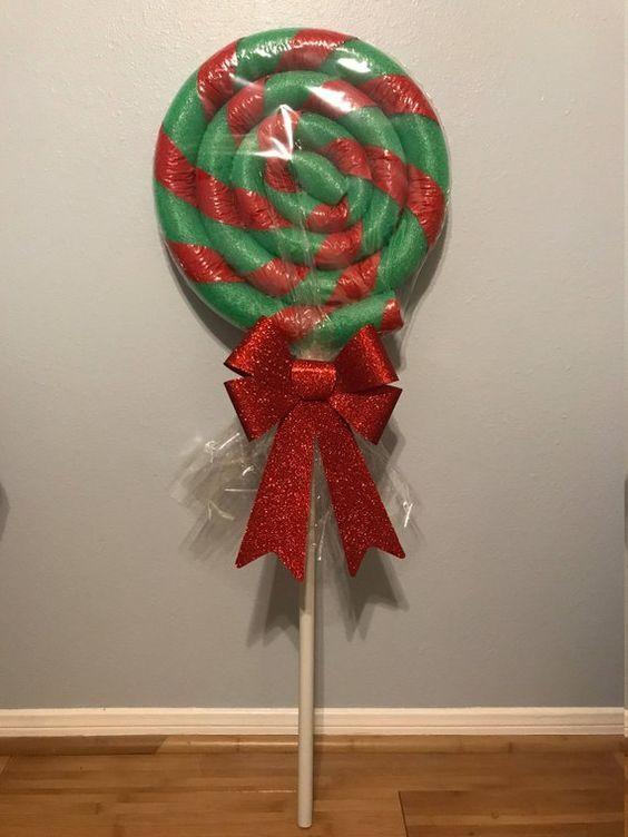 Christmas decor candy