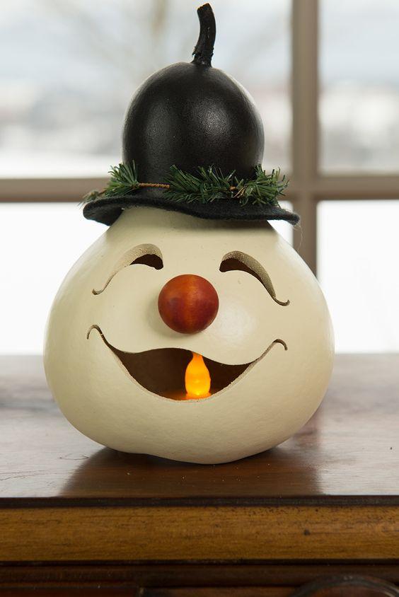 Christmas decor snow man